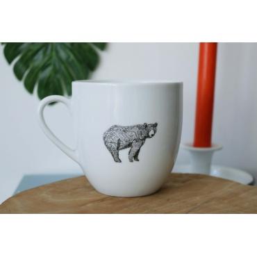 Kubek porcelanowy BEAR...