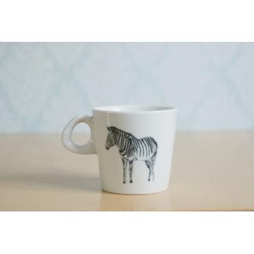 kubek ceramiczny Zebra